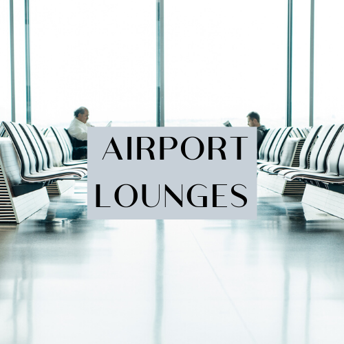 East Midlands Airport Terminal - lounges