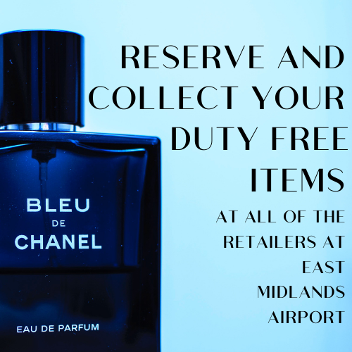 Treat yourself Shopping duty free at East Midlands Airport!